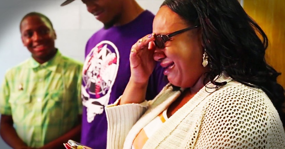 This Woman Had Some Tough Breaks In Life. But This Surprise Has Her SWEEPING Away Tears!