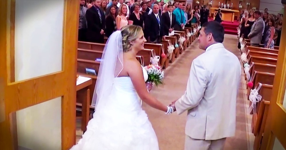 Father Sings To His Daughter As They Walk Down The Aisle! WOW, I'm Sobbing!