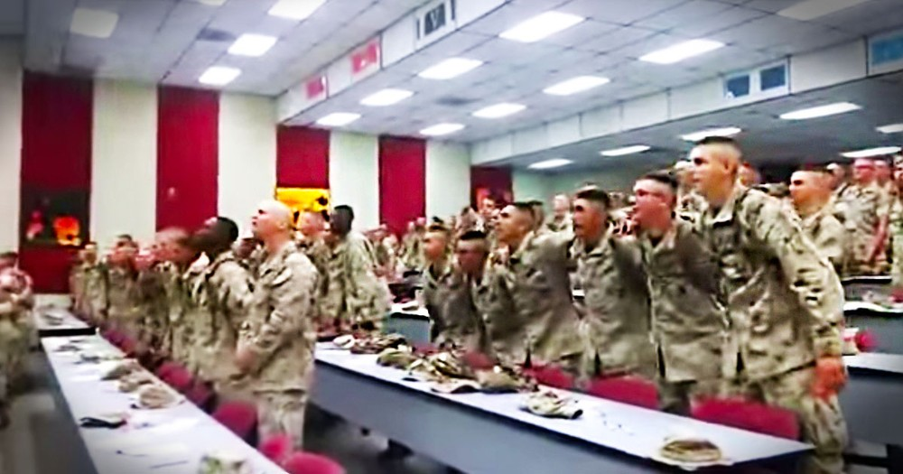 Marines Praise The lord With 'Days Of Elijah'