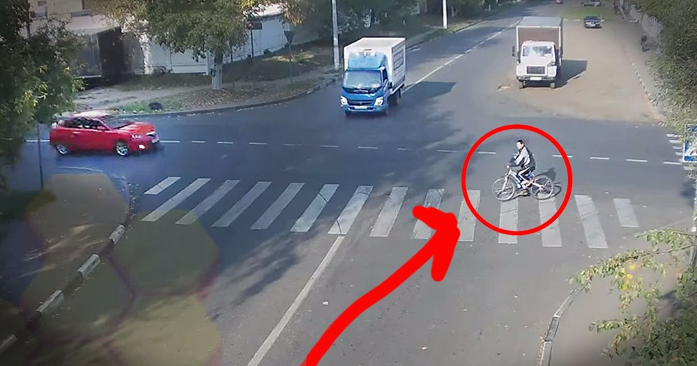 The MIRACLE Just 10 Seconds In Still Has Me Reeling! But What The Cyclist Does Next Stunned Me!