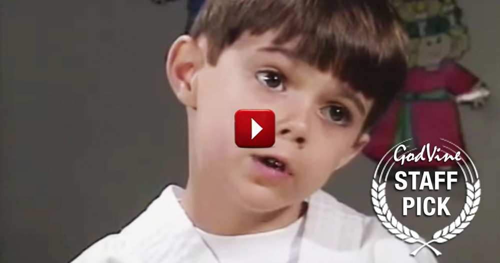 This Precious Little Boy Is About To Explain Why God Created Grandmothers. And It's The BEST!
