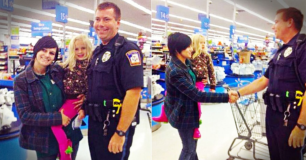 This Officer Went Above And Beyond The Call Of Duty For A Mother In Need. Now THIS Is A Hero!