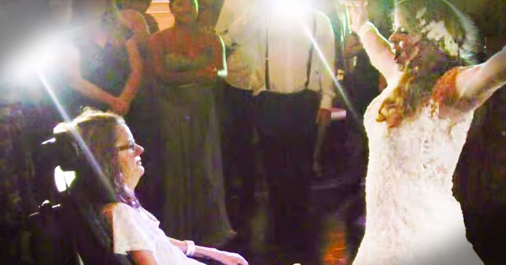 This Bride's Wedding Was Missing 1 Special Person. Just Wait 'til The End for the TEARFUL Surprise!