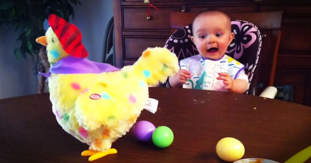 This Cutie Has A New Toy. And Her Reaction To The Surprise Is Seriously Contagious! AWW!