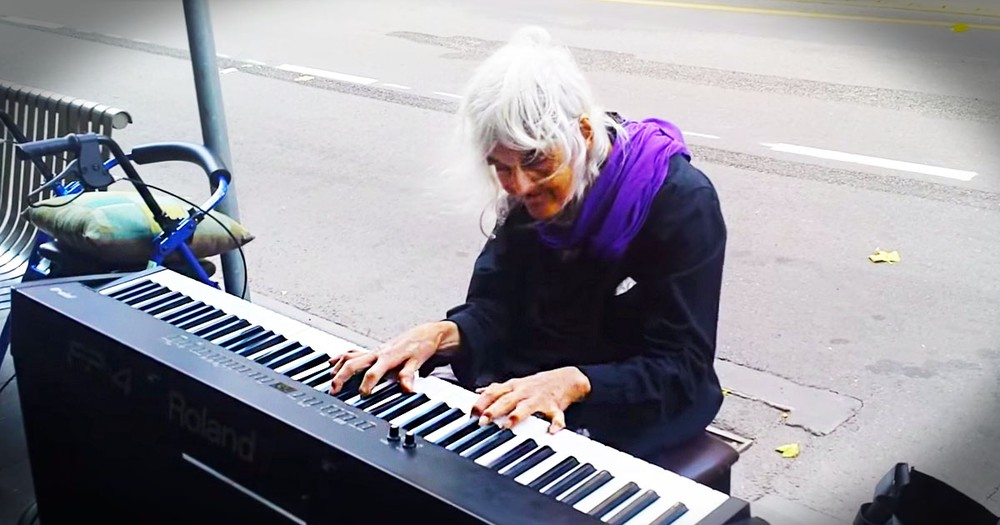 When They Saw This Old Woman Sit At The Piano They Didn't Expect THIS. Hold On To Your Hats!