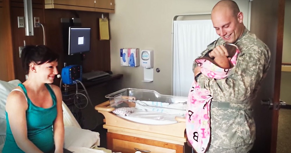 This Soldier Just Met His Daughter For The Very First Time. And My Heart Can Barely Handle It!