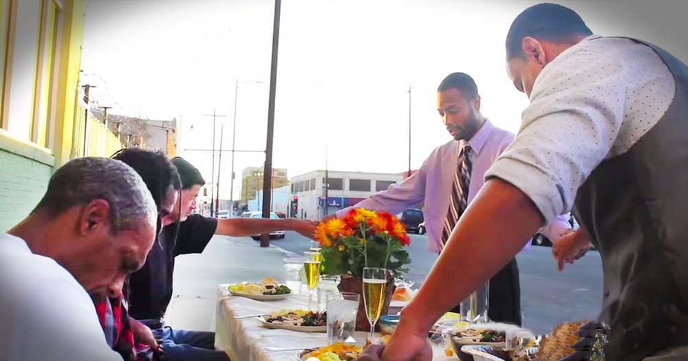These Guys Realized EVERYONE Needs Thanksgiving. How They Did It For The Homeless Had ME In Tears!