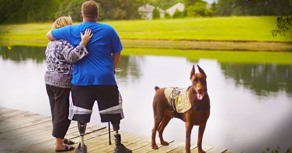 Wounded Warrior Surprises Deserving Mom