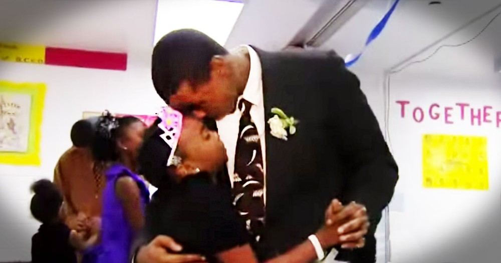 Little Girls Attend Tearful Daddy-Daughter Dance In Jail