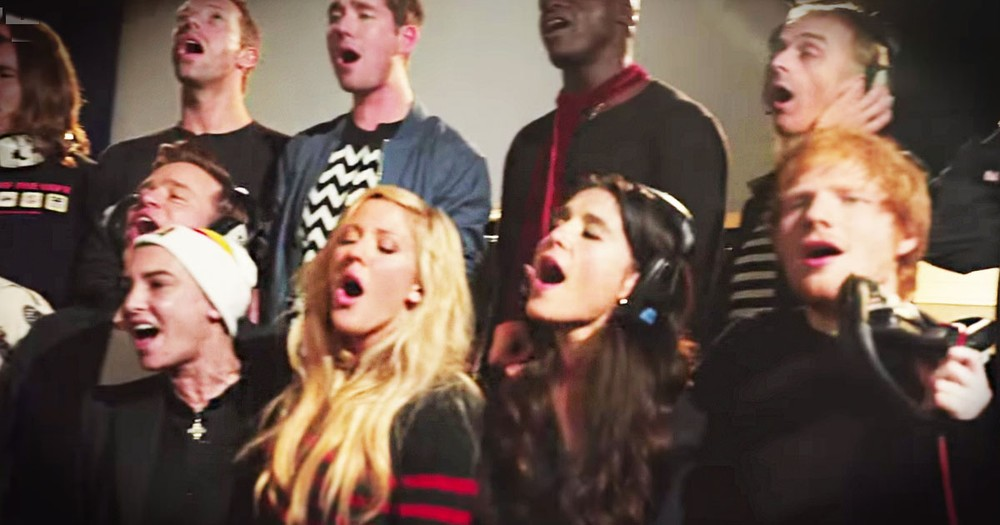 30 Pop Stars Sing A Christmas Song To Help Find A Cure For Ebola