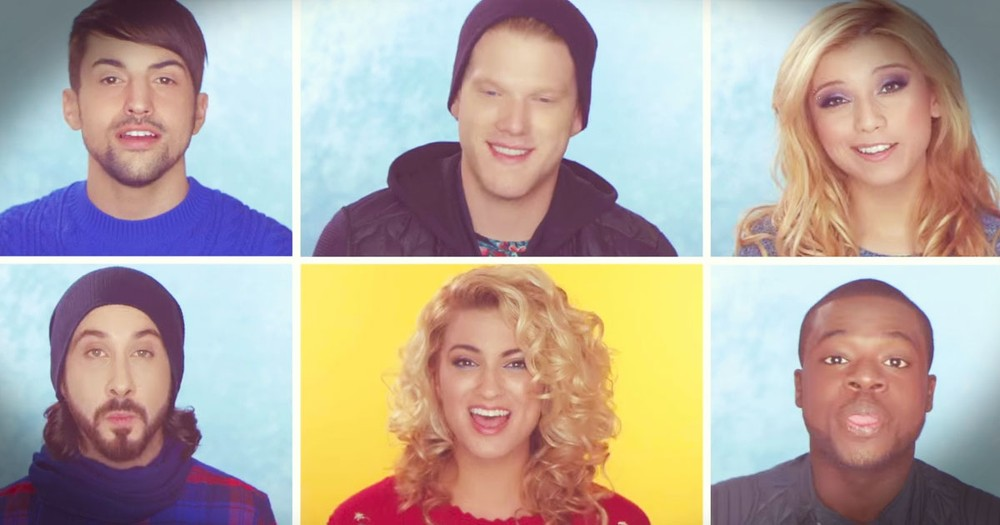 Pentatonix Sing Magical 'Winter Wonderland' 'Don't Worry Be Happy' Mashup
