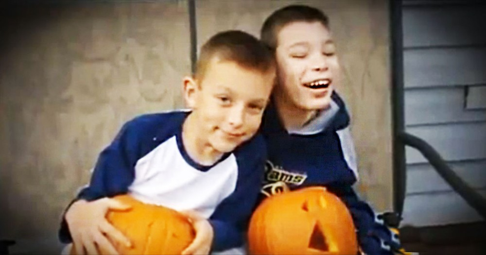 Loving Boy Dedicates His Life To His Big Brother With Special Needs