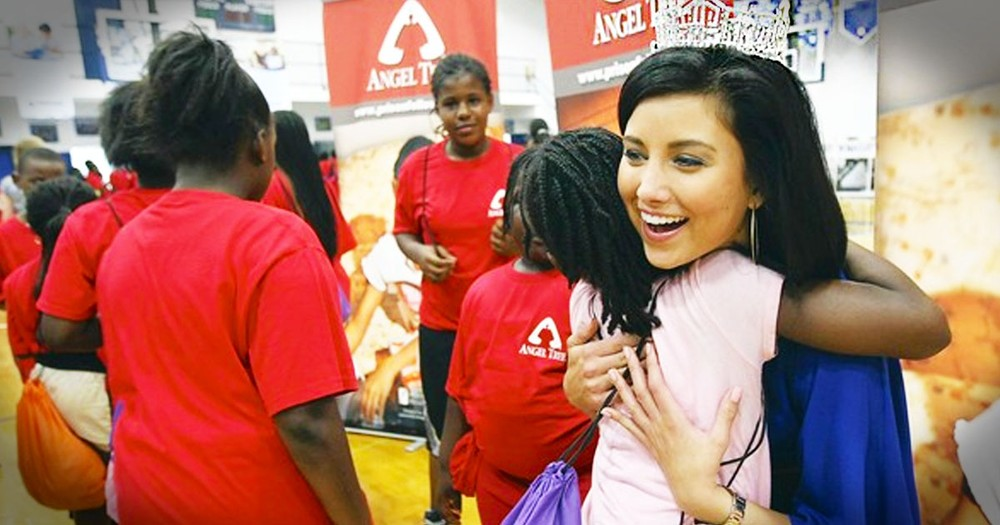 Miss America Uses Secret From Her Own Dark Past To Help Others