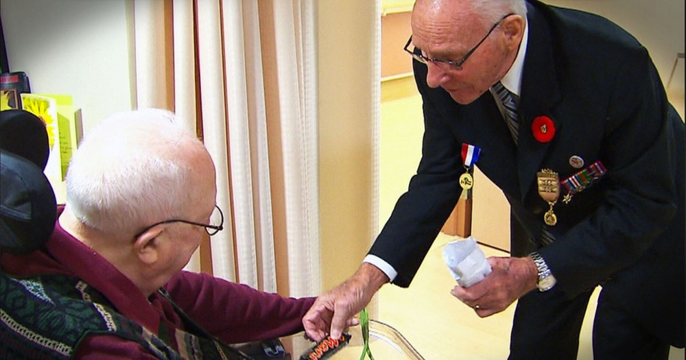 Two WWII Veterans Are Reunited More Than 70 Years Later