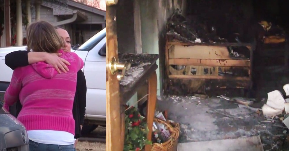 Neighbor's Dog Saves Woman From House Fire