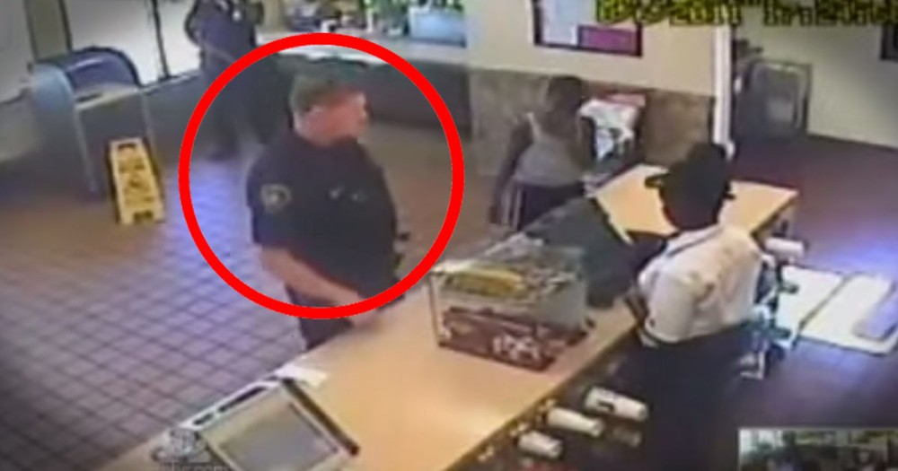 Police Officer's Final Act of Kindness Caught on Tape Before Dying