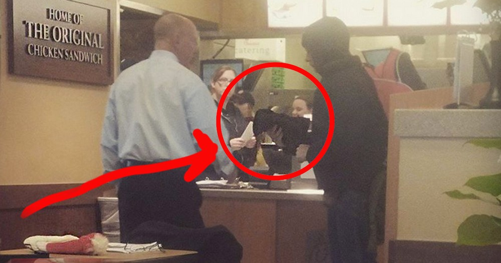 Chick-Fil-A Manager's Touching Act Of Kindness For A Homeless Man