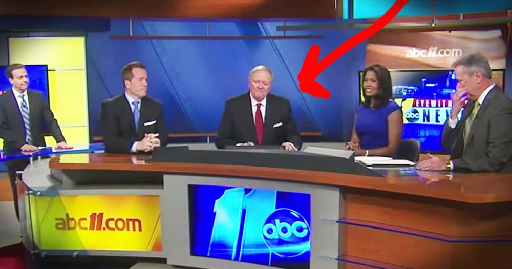 TV Anchor Shares Troubling News With His Viewers