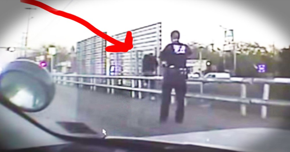Kind Officer Amazingly Saves Man From Taking His Own Life
