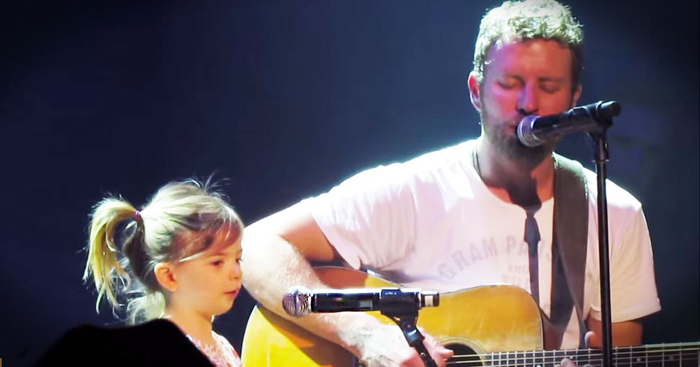 Country Star Brings The Song's Inspiration On Stage--Aww!