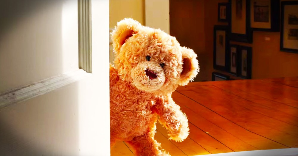 What Fills This Bear With JOY Will Warm Your Heart--Aww!