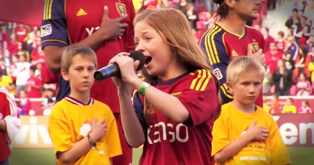 12-Year-Old Sings National Anthem Like You've Never Heard Before!