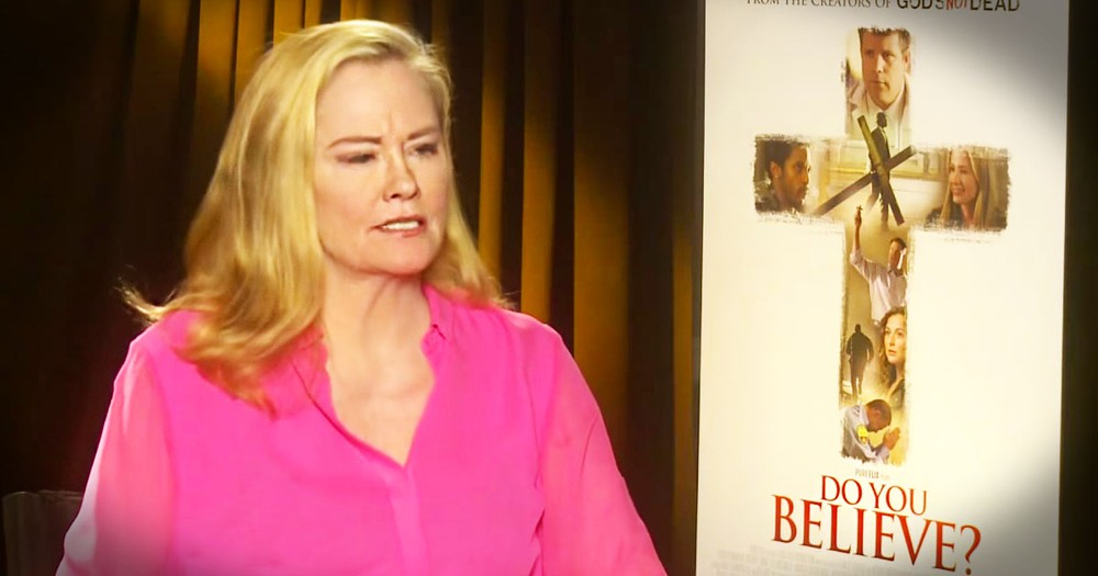 Cybill Shepherd's Talking To JESUS After Heartbreak