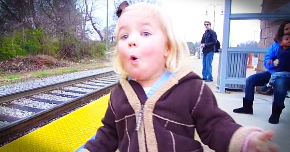 Little Girl's Joy Can't Be Contained When Her Birthday Wish Comes True