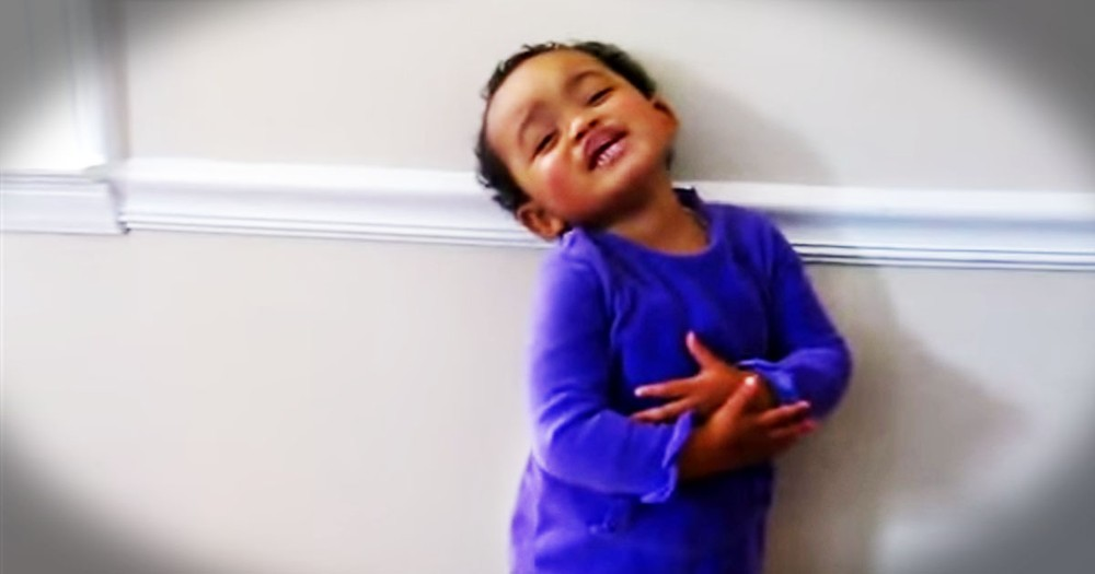 Adorable Toddler Sings 'Amazing Grace', But That's Not All!