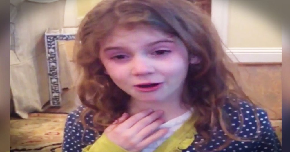 She Gets SO Emotional After Her Baby Brother Did This--AWW!