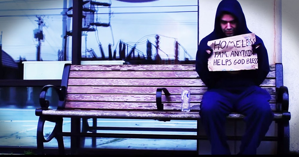 This Homeless Man's Surprise Is Proof--Don't Judge A Book By Its Cover!