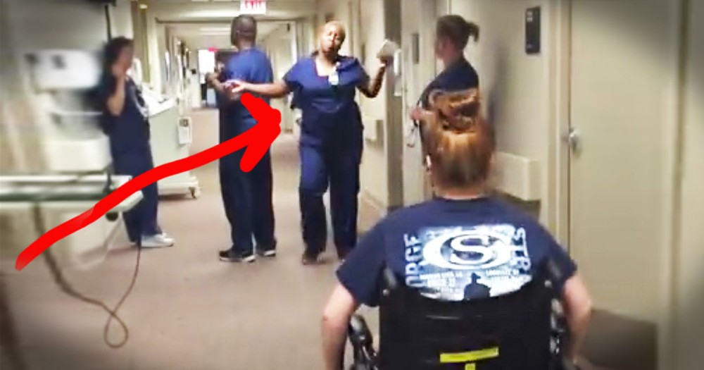 Woman Has BEST Surprise For Her Nurse--Tears!