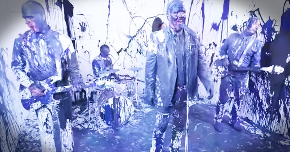 Why Christian Band MercyMe Was Covered In Paint Had Me Yellin' AMEN!