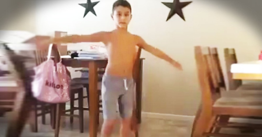 What This 10-Year-Old Did In The Kitchen Had My Jaw On The Floor!