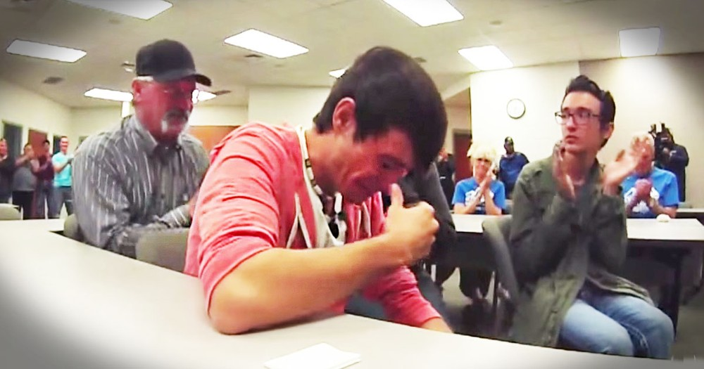 He Lost The Squad Car That Belonged To His Late Dad Until A Stranger Did THIS!
