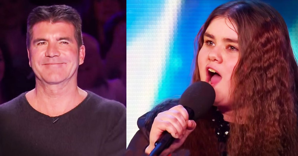 She Overcame Nerves To WOW Even Simon With This Audition!