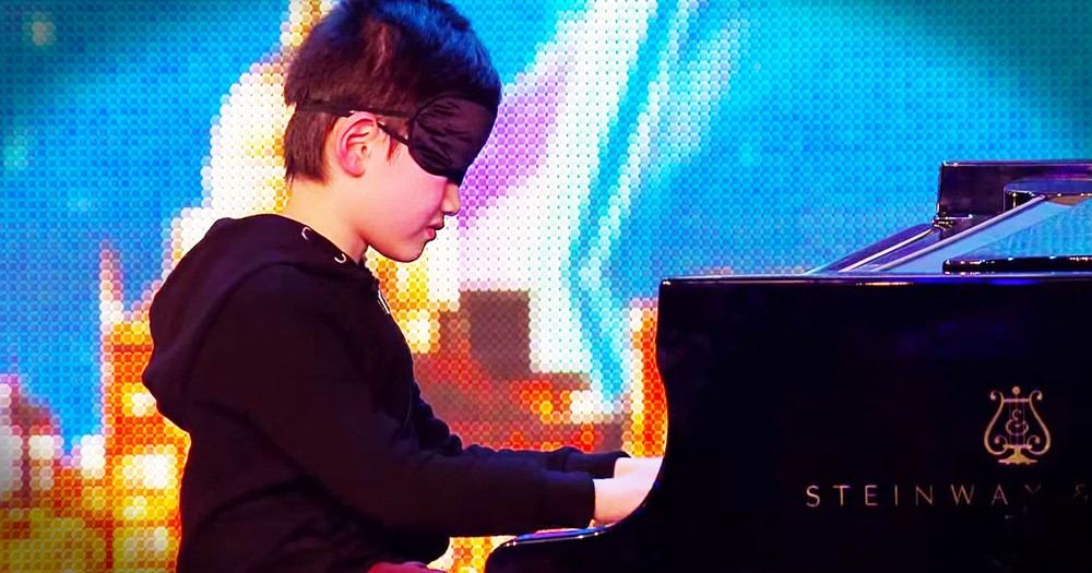 7-Year-Old Prodigy Is A Lean, Mean Piano-Playing Machine!