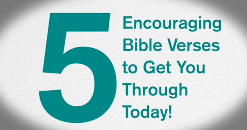 When Life Seems Like Too Much To Take, Here Are 5 Bible Verses You Must Read.