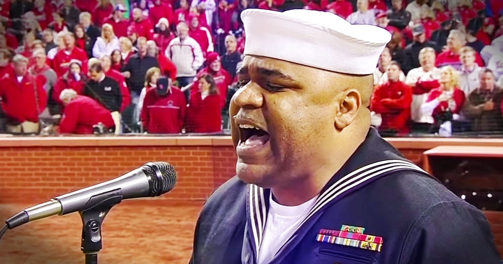 Retired Naval Officer Sings God Bless America at World Series - You'll Get Chills