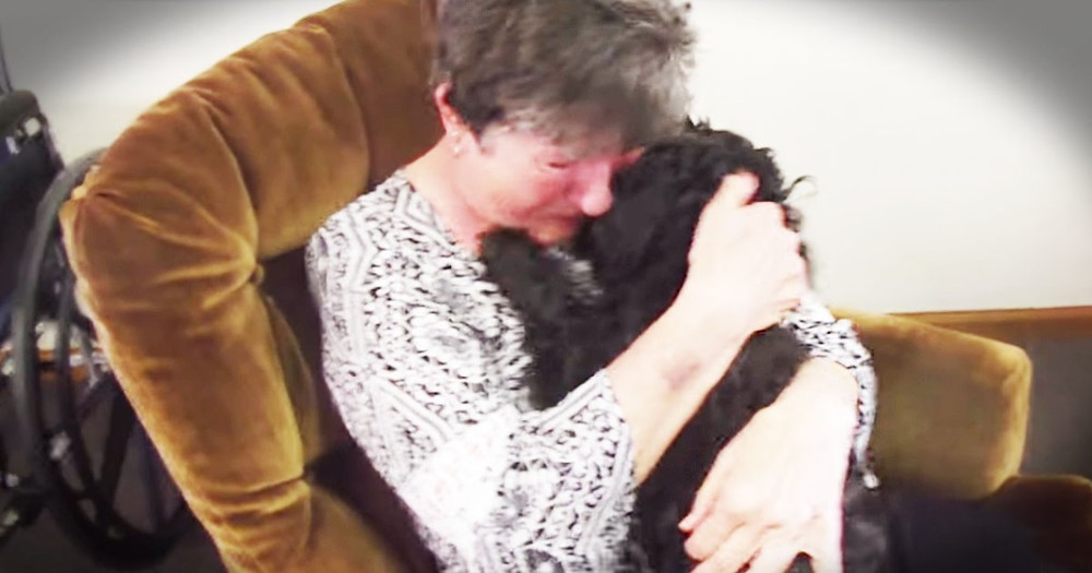 Her Family Gave Her The BEST Surprise--A Reunion With Her Beloved Dog!