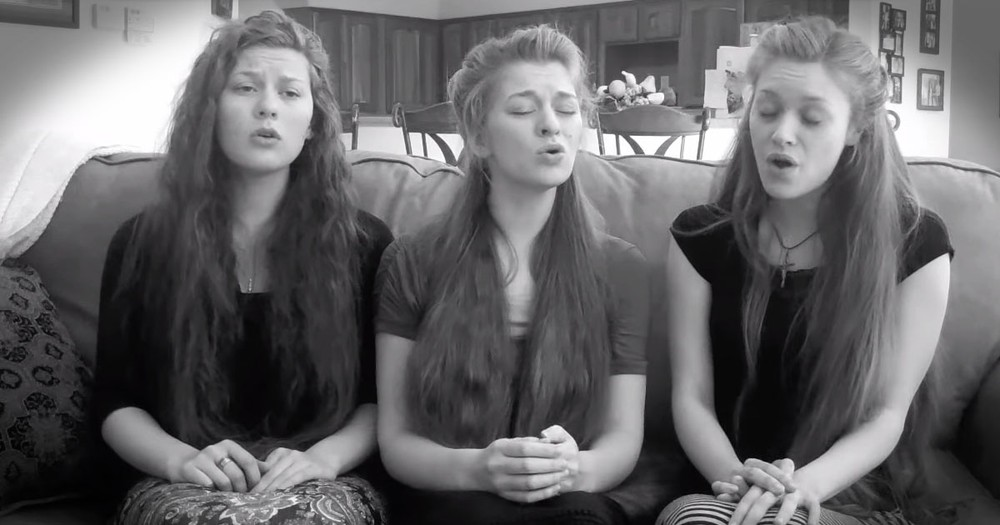 Sisters Breathe New Life into an Old Hymn--Just WOW! Seriously, the Harmonies are WOW!