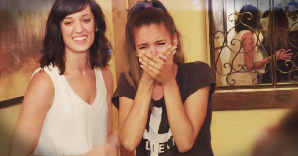 She Thought Her Dad Was Too Ill To Come To Her Wedding--TEARS!