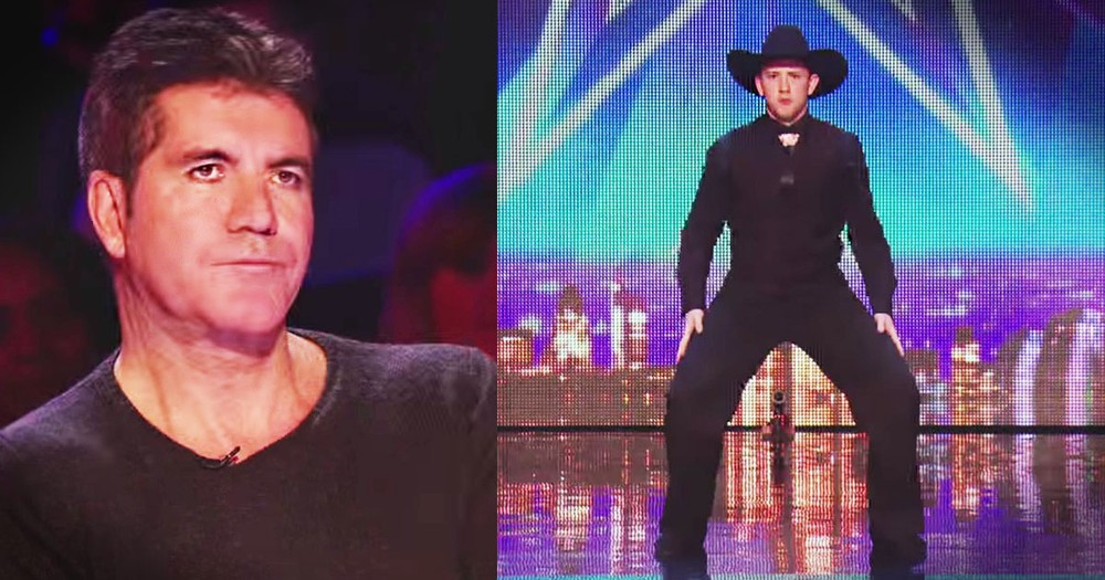 This Dancing Cowboy Almost Got An 'X' And Then...WHOA