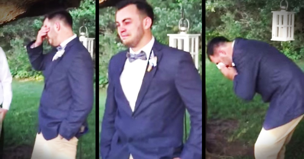 When He Saw His Bride This Groom Had The Most Beautiful Reaction!