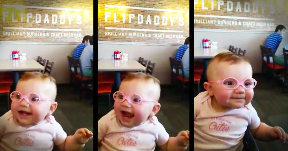 Baby Girl Is Filled With JOY When She Sees Her Parents For The First Time!