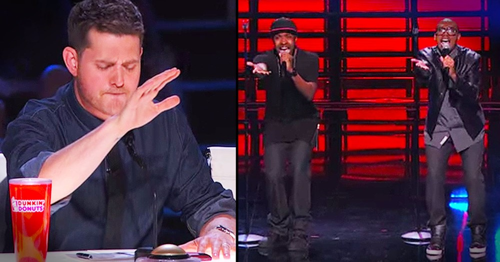 Amazing Audition Made Michael Buble Do THIS!