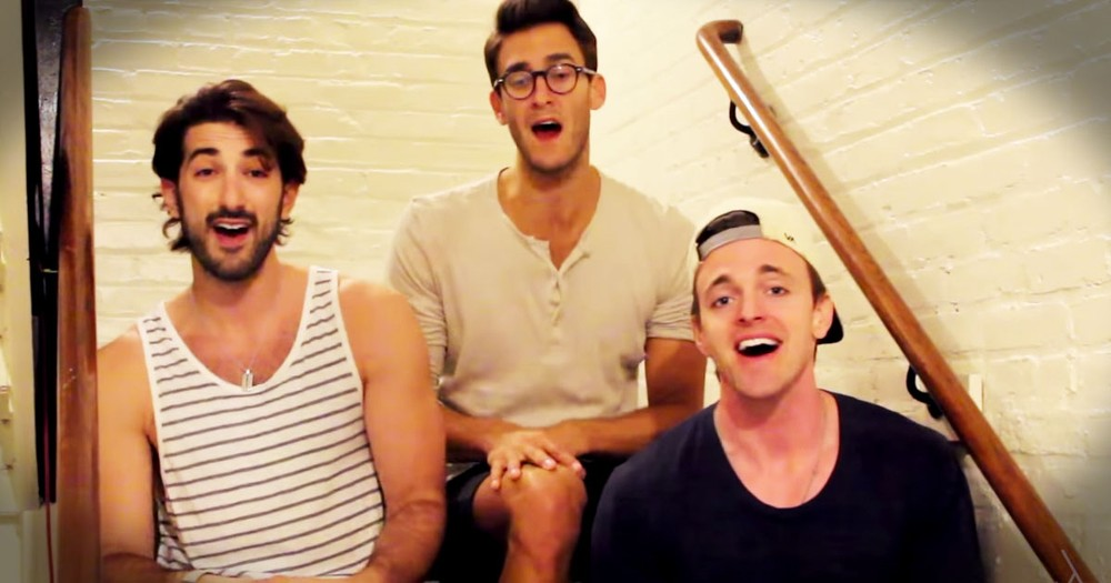 These 3 Guys' A Cappella Medley Will Turn Your Day Around!
