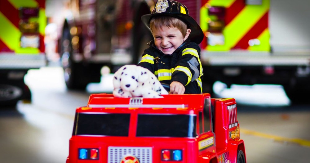 These Firefighters Just Took Hero To A Whole New Level -- Tears!
