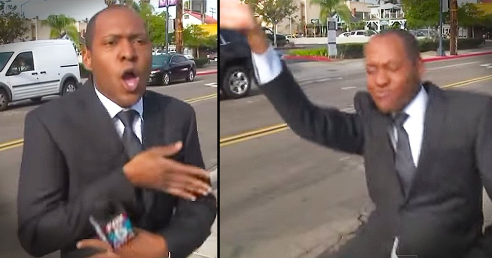 This Reporter Decided To Break It Down In The Commercial Break, And It's AWESOME!