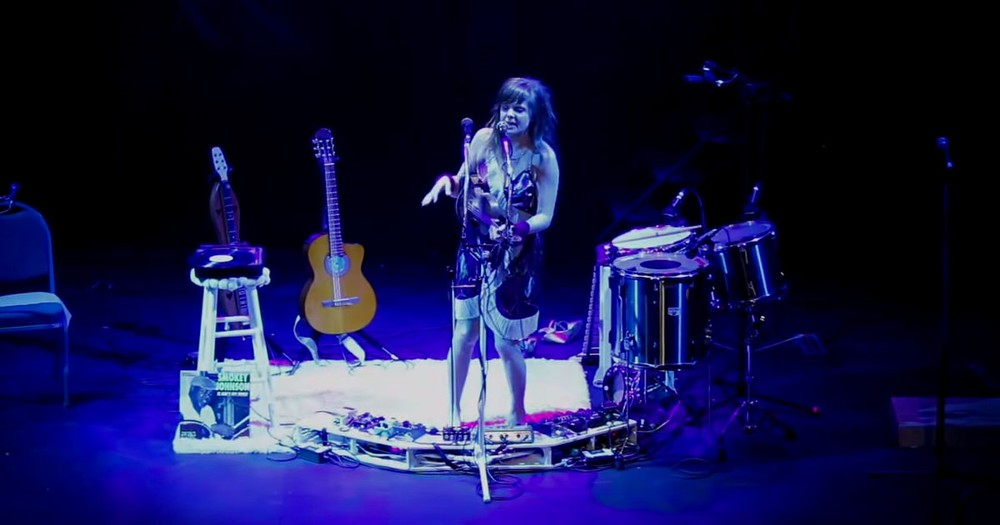 This One-Woman Band Will Amaze You With Her Performance Of 'Oh Mary'